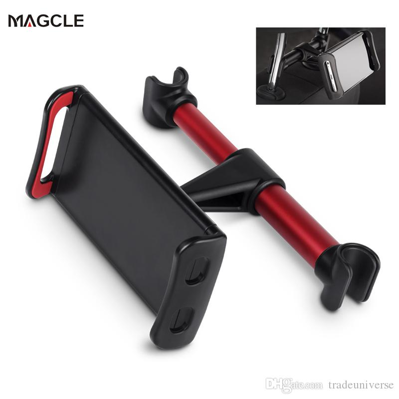 Magcle -11 inch Phone Tablet PC Car Holder Stand Back Auto Seat Headrest Bracket Support Accessories For iPhone X 8 iPad Mini