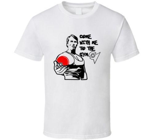 Arnold T-shirt Gym Tee Train Pokeball Cool Casual Fierté T Shirt Hommes Unisexe Nouveau Mode T-shirt Livraison Gratuite Tops Ajax