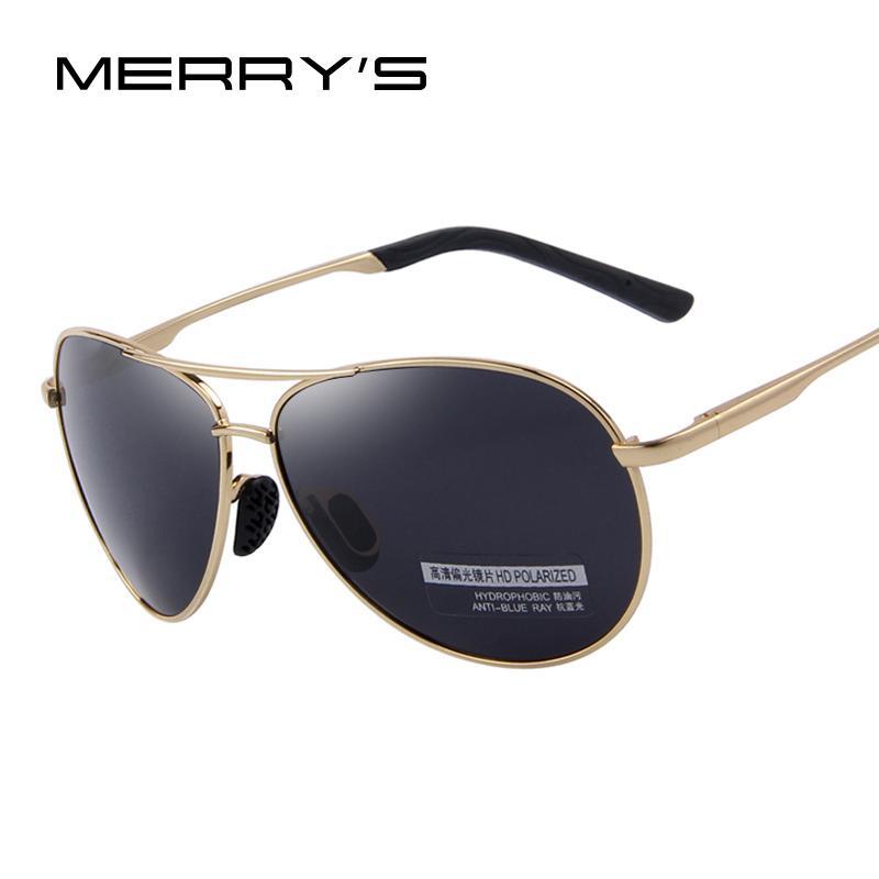 Merrys Moda Erkek UV400 Polarize Güneş Gözlüğü Erkekler Sürüş Shield Gözlük Güneş Gözlükleri
