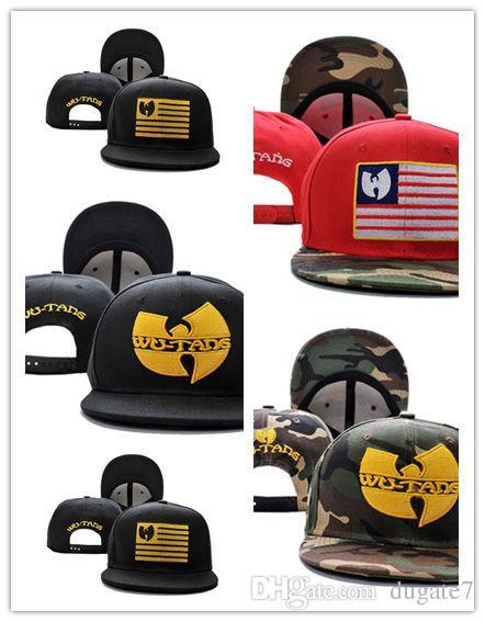 Good Sale New Arrivals Wu Tang camo USA flag Mens bones swag Gorra Baseball Caps Adjustable Gorras Snapback Hats For Adult