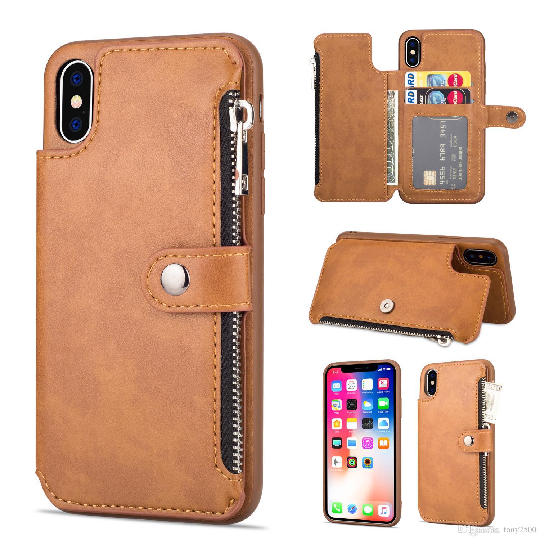 Custodia portafoglio per i-Phone Samsung Galaxy smartphone 14 x 9 x 4 cm