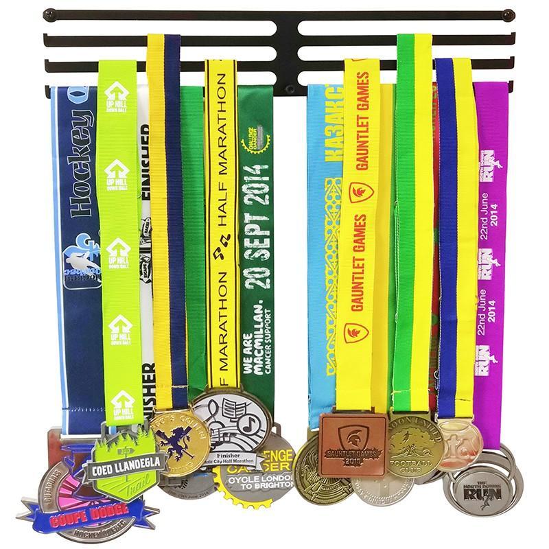 ثلاثة رف الحديد الرياضة ميدالية شماعات ميدالية الرف