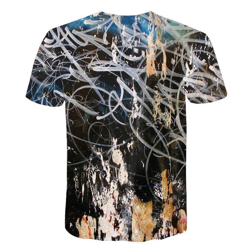 2018 nuovi uomini per il tempo libero 3d maglietta di stampa, modello stampato maglietta da uomo e da donna Hip hop T-shirt Harajuku m-5xl