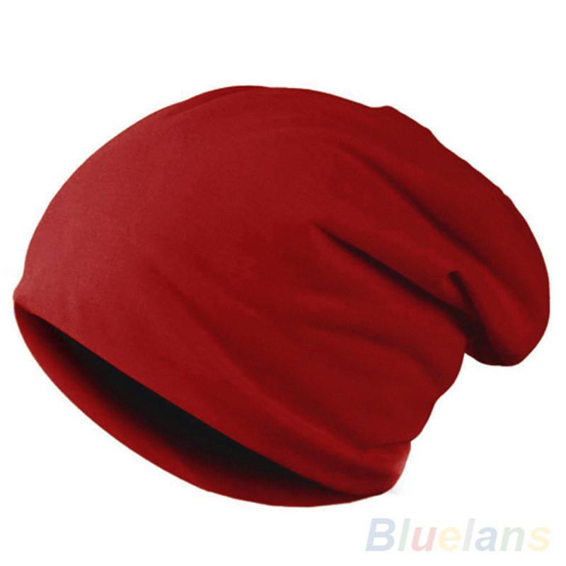 Splendid Women's Men's Hat Winter Slouch Crochet Knit Fashion Hip-Hop Cap Beanie Y18110503