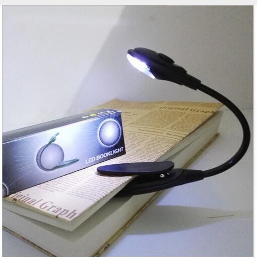 Led book 라이트 미니 클립 -에 유연한 밝은 LED 램프 라이트 책 독서 램프 여행 침실 책 리더 크리스마스 선물