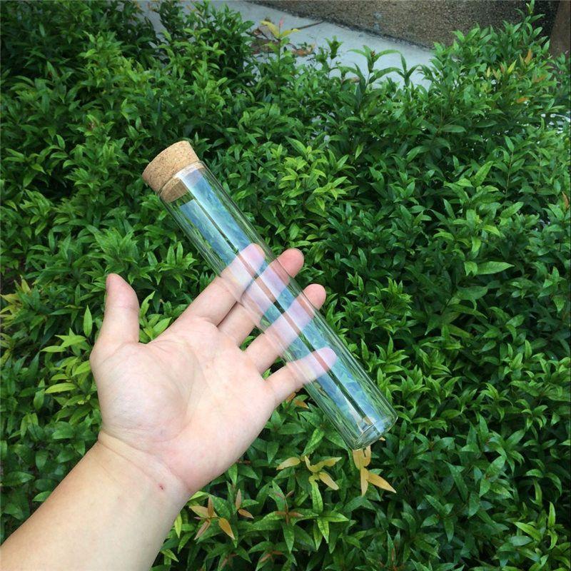 150ml Large Glass Bottles Vials Jars With Corks Storage Bottles Jars Glass Transparent Clear Big Bottles Corks (3)