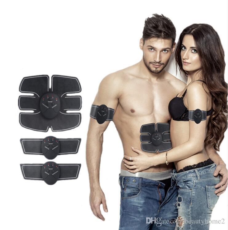 Corps de stimulation d'EMS de stimulateur de muscle sans fil amincissant la machine de beauté Appareil de formation d'exerciseur de muscle d'abdominaux
