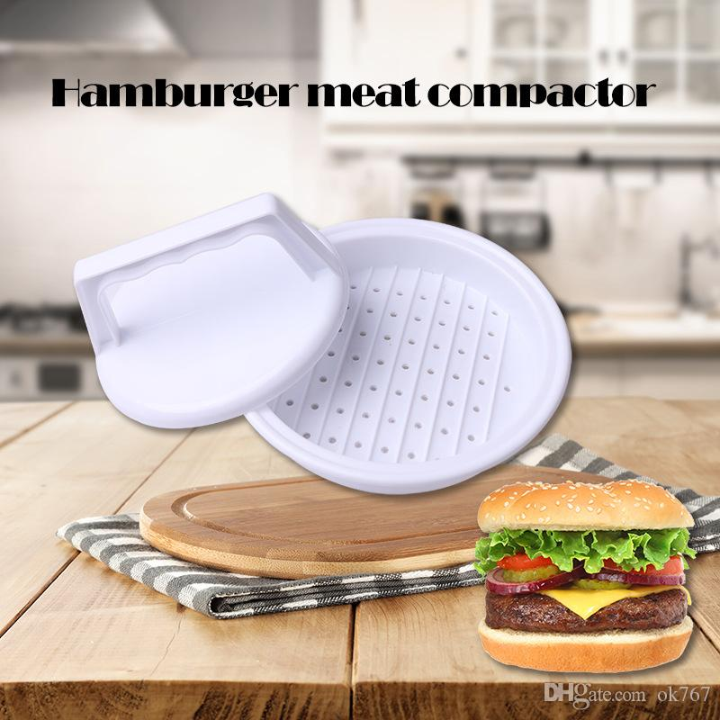 High Quality Food Grade Plastic Hamburger Meat Compactor Making Hamburgers Processing Machines Kitchen Gadget Fall In Love With The Kitchen