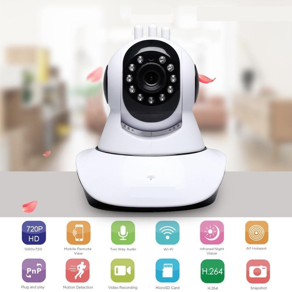 1080P Wireless Wifi Baby,Pet Monitor Motion Alarm IP CCTV Camera IR Night Vision
