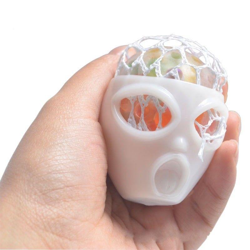 Halloween Alien Skull Stress Relief Toys Decoración Nueva descompresión Squeeze Toys Juguetes antiestrés para niños Niños