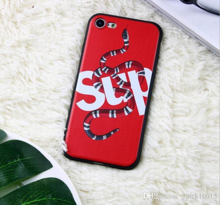 2019 Creative Tide brand iPhoneXS MAX mobile phone case Snake matte mobile phone case custom designer phone case 4g lte