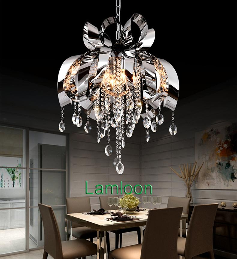 Modern Style New Design Led Pendant Crystal Chandelier Lights Dining Room  Bedroom Pendant Light Bar Club Personality Led Hanging Lamps Ceiling Lamp  ...
