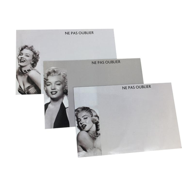 Referigerator Magnet Marilyn Monroe Design Flexible Message board For Fridge Whiteboard as Memo Pad Magnetic Sticker Drawing B
