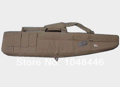 Heavy Duty Tactical 47 polegada 10.5 polegada 1.2 m Gun slip Bevel Carry Bag Caso Rifle Ombro Backup 4 Bolsas Para Caça areia
