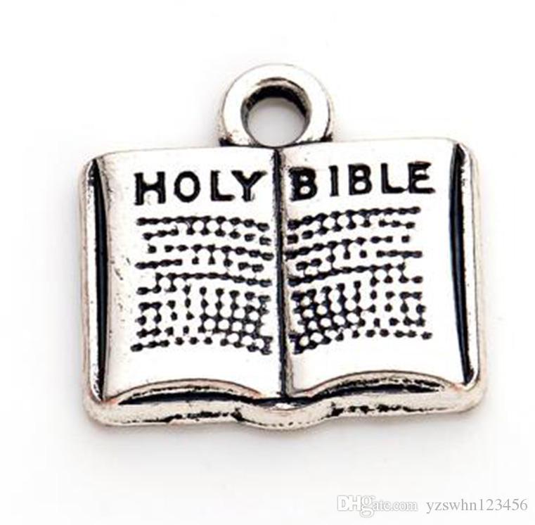 Bijoux religieux de charme accessoire biblique Sainte Bible