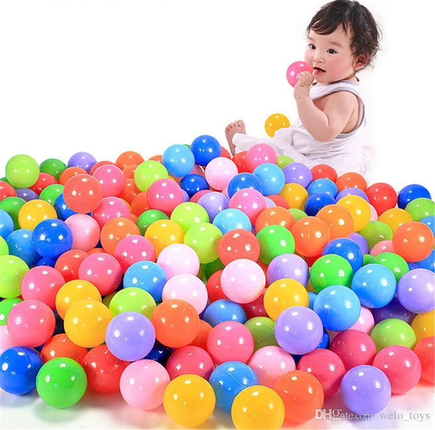طفل المحيط كرات اللعب صديقة للبيئة البلاستيك بركة مياه المحيط الموجة الكرة الاطفال في الهواء الطلق مضحك الكرة ألعاب رياضية