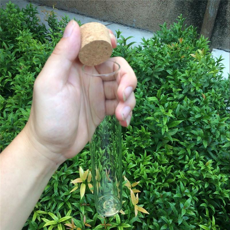 150ml Large Glass Bottles Vials Jars With Corks Storage Bottles Jars Glass Transparent Clear Big Bottles Corks (4)