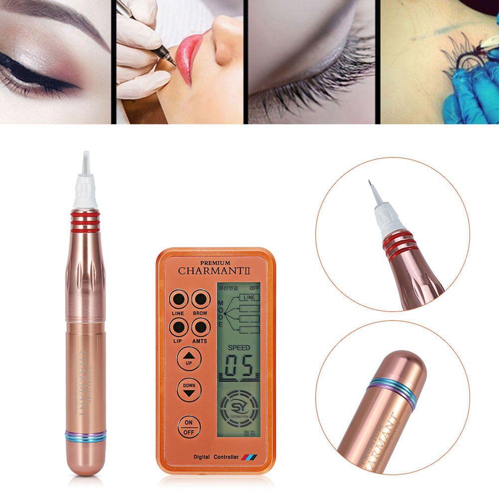 2021 Digital Permanent Eyrie Eyine Lèvres Rotary Maquillage Fourniture MTS Tatouage Pen Machine Soins de la peau Beauté