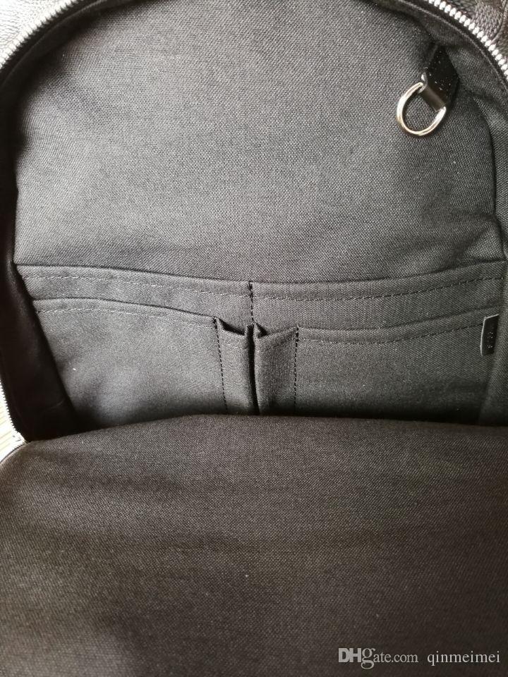 Brededed Design Real Free Fight Kight Quality Men Bakcpack N58024 черный / серый плед спортивные путешествия молния Michael Men рюкзаки 45 * 26 * 17см