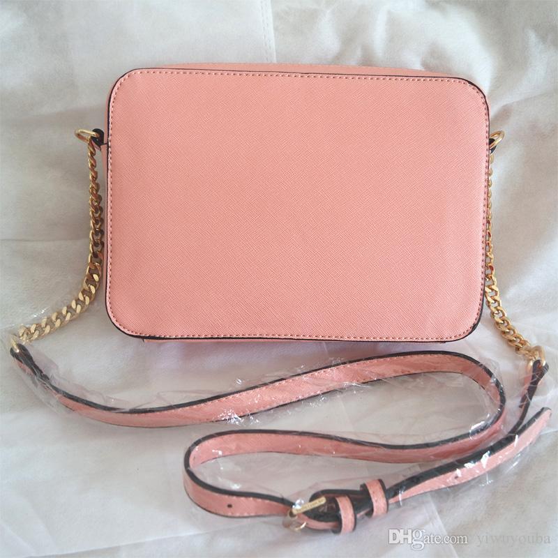 Großhandel MICHAEL KORS Mk Marke Mode Frau Crossbody Tasche Werbe Damen Totes Luxus PU Leder Handtasche Kette Umhängetasche Plaid Frauen Tasche Von