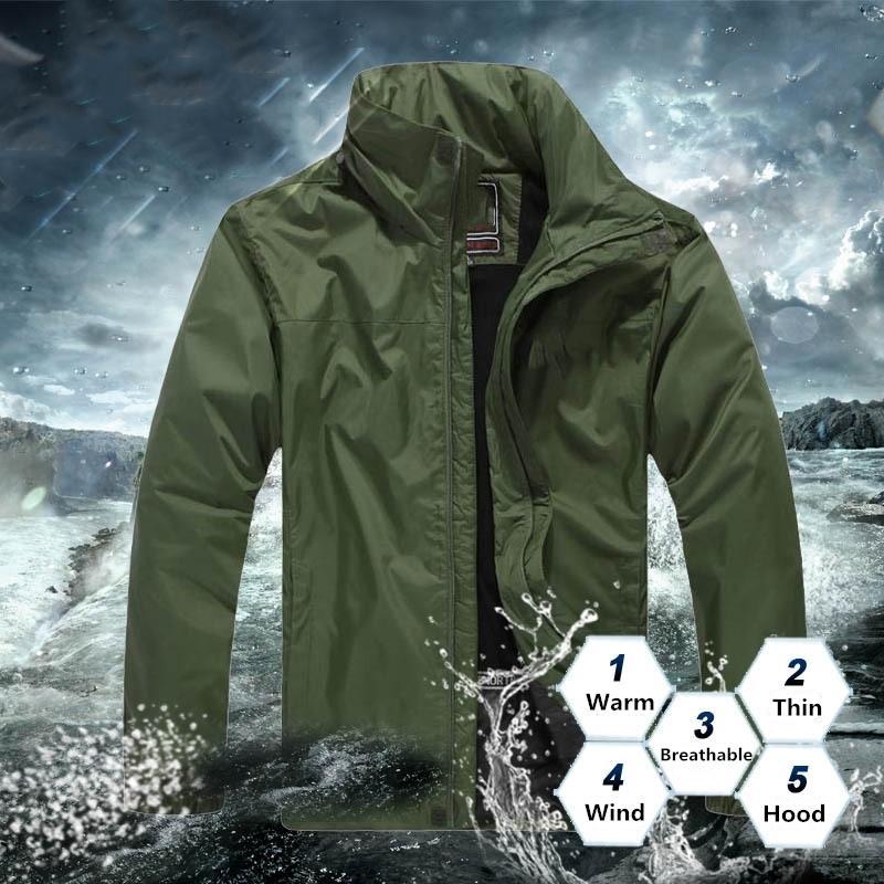 Designer Mens Jacket Primavera Outono Outwear Windbreaker Hoodie Zipper Moda Casacos com capuz Casaco exterior Desporto Asiático Tamanho da Roupa Masculina
