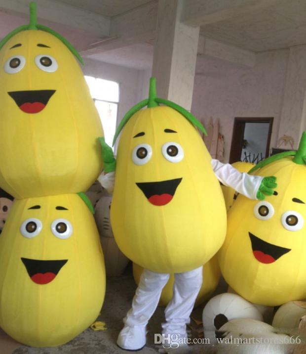 2018 Alta qualità Rapid Make alta qualità EVA materiale pera mascotte Costume frutta Cartoon Apparel pubblicità