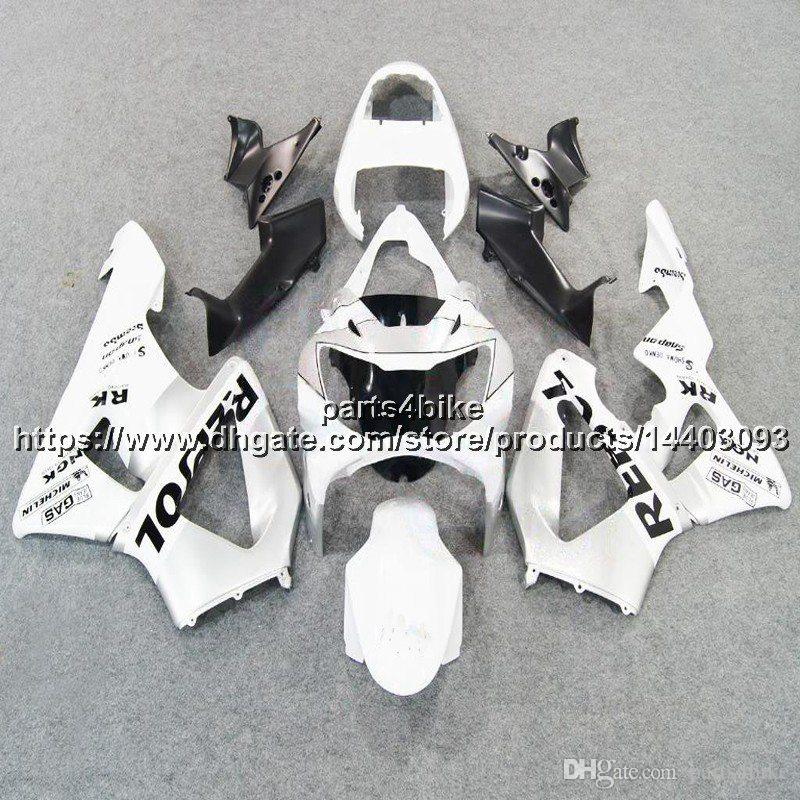 23colors+5Gifts Injection mold ABS white Fairing For Honda CBR929RR 2000-2001 CBR929 RR 00 01 CBR 929 RR bodywork motorcycle hull