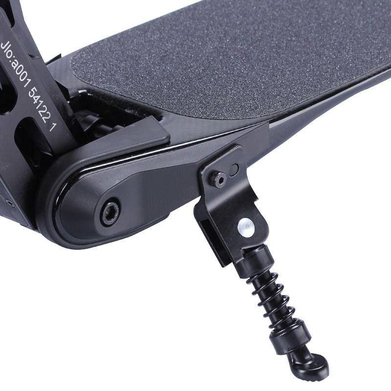 Новый Углеродный Волоконный Скутер Лакатерный Электрический Скейтборд Штриховая Стенд Стенд Самокат Частей