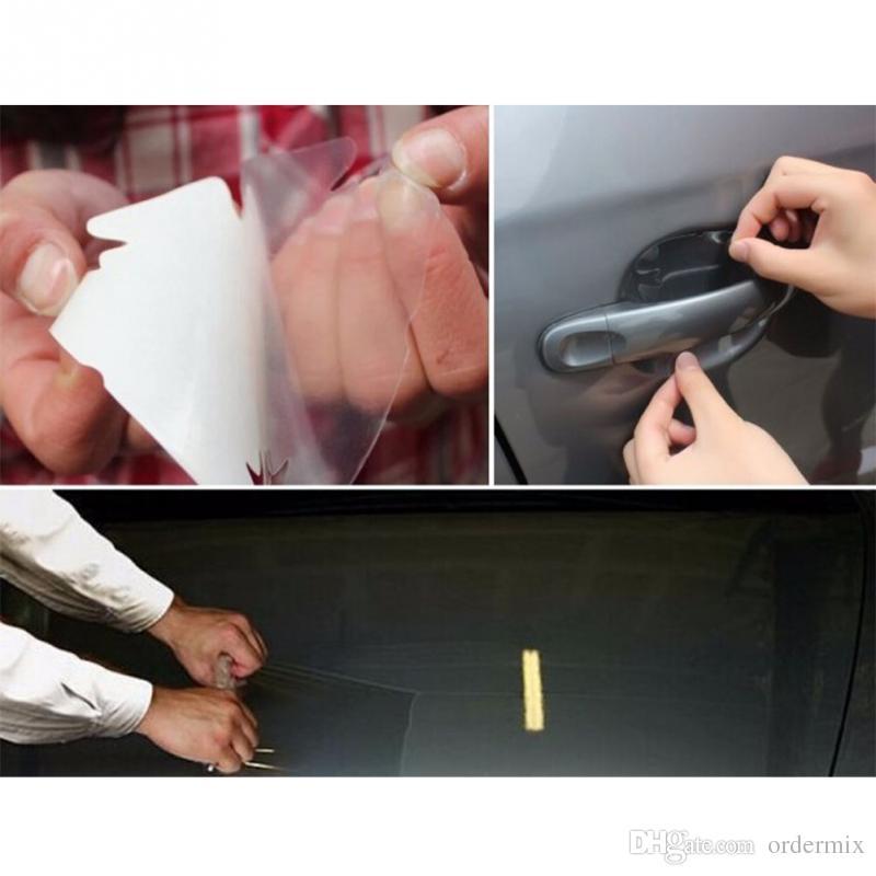 Nosorożec Skóry Zespół Zespołowy Kaptur Ochrona farby Film Vinyl PVC Clear Trancer Film Naklejka