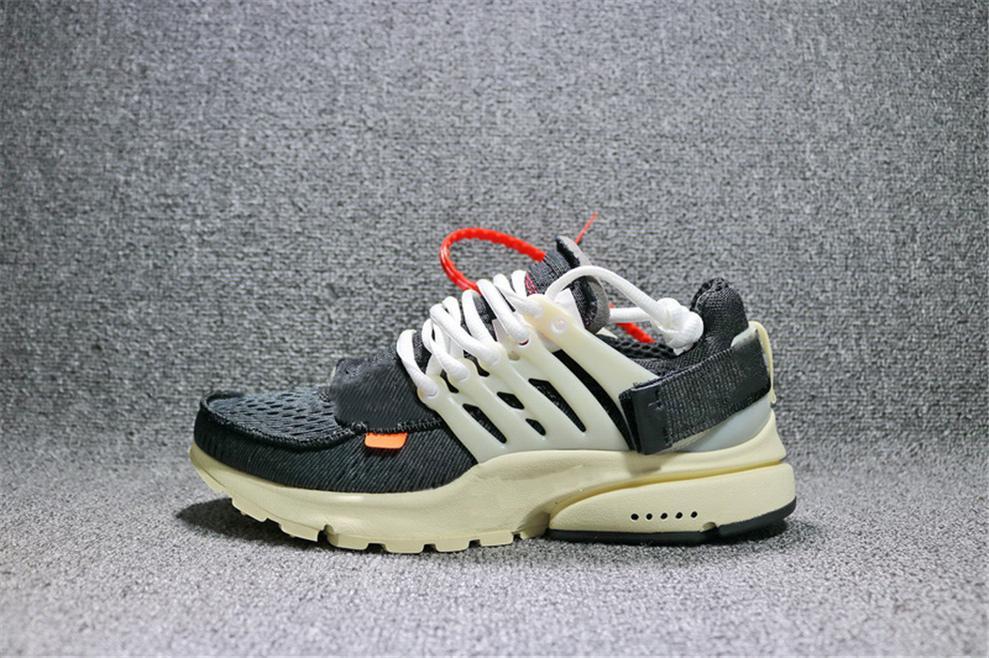 2020 2018 Best Off Shoes Presto 2.0 Black White Men Running