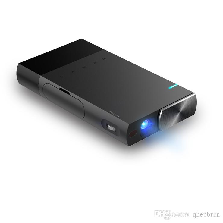 High-end products!DLP micro home and office integrated projector, S1 HD wired screen projector. Small and light.
