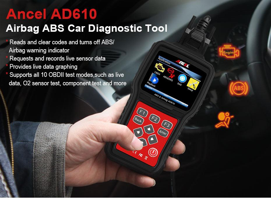OBD2 OBD Automotive Scanner Diagnostic Tool Ancel AD610_01