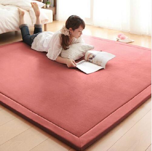 2 cm tappeto di velluto di corallo tappetino tappeto 180 * 200 * 2 cm tatami tavolo manichino camera da letto tappeto rettangolo soggiorno tappeto