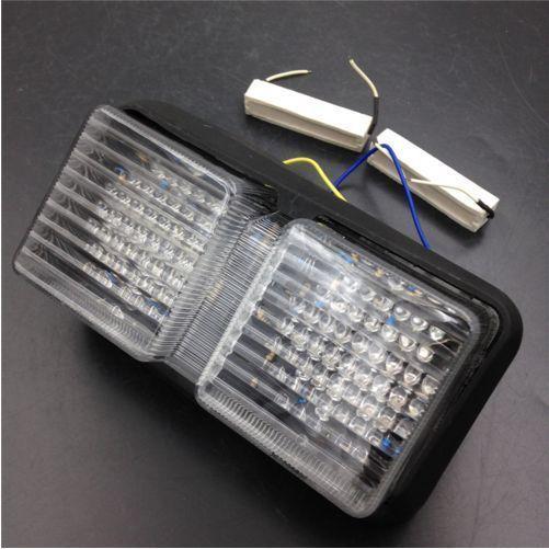 Trasera LED luz de freno señales de vuelta para Honda RC51 2000-2006 RVT1000R CLARO