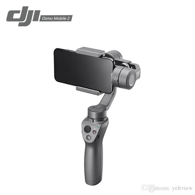 DJI Osmo Mobile Handheld Gimbal 3-Axis Anti-shake Smart Stabilizer con Smooth Video / Motion Timelapse / Panorama Funciones Adecuado