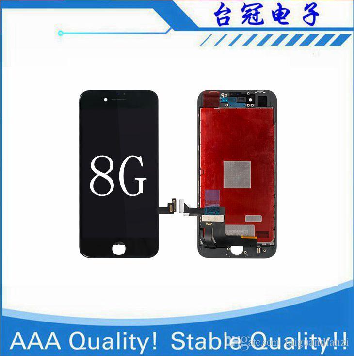 Para iPhone 8 LCD con 3D Touch iPhone 8g lcd 100% Garantía Sin reemplazo de pantalla de píxeles muertos Pantalla de alta calidad