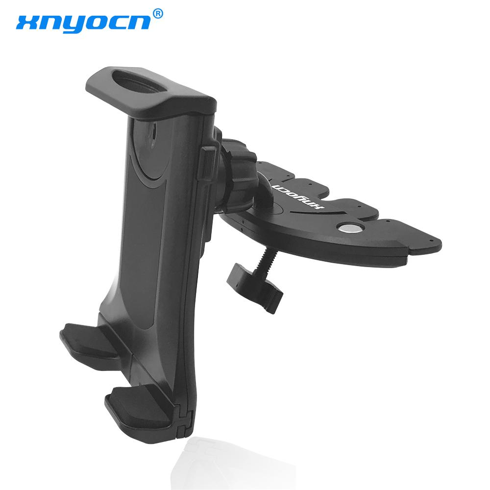 vendita all'ingrosso Universal Car CD Slot Mount Car-styling Car Tablet supporto del telefono mobile per iPhone 5 6s 7 Samsung S5 S6 S7 S8 M8 M9