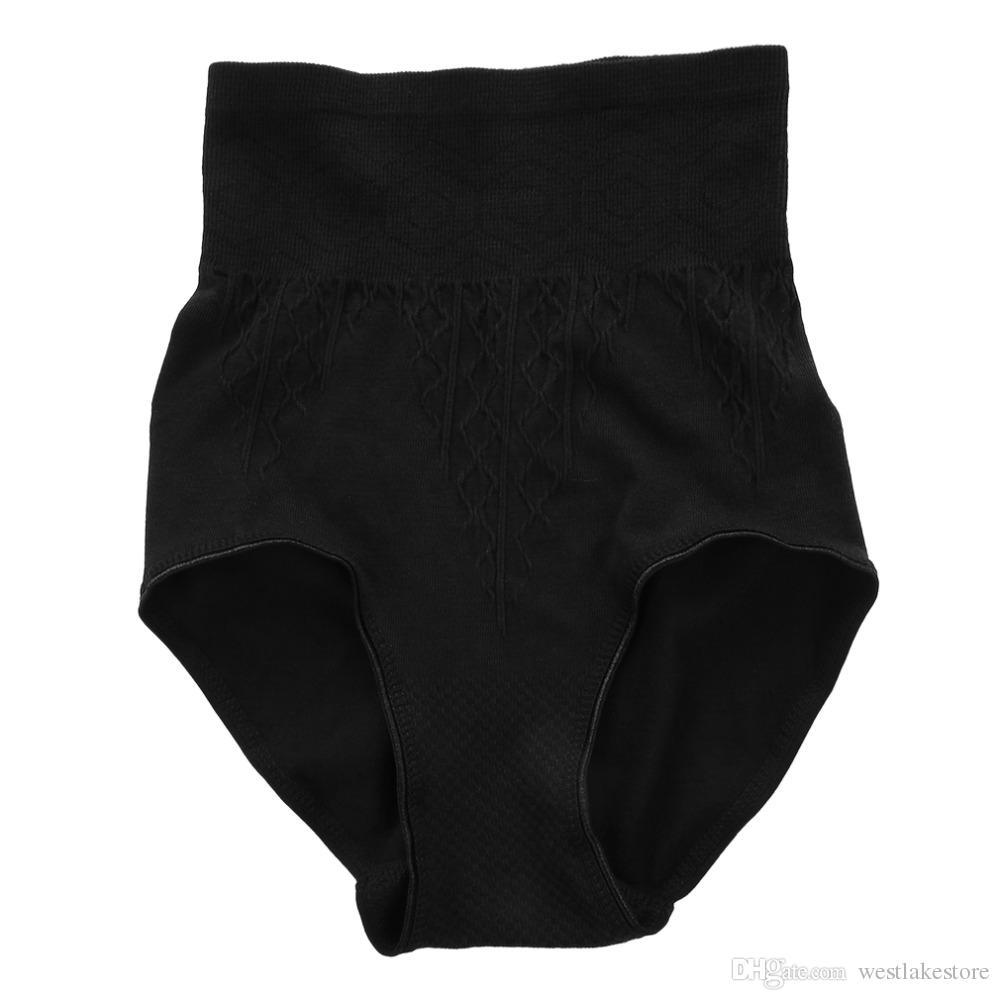 Calzoncillos de las mujeres ropa interior Bragas de algodón elástico Multicolor clásico de cintura alta ropa interior de la señora ropa interior niña 100% Hot New Hot