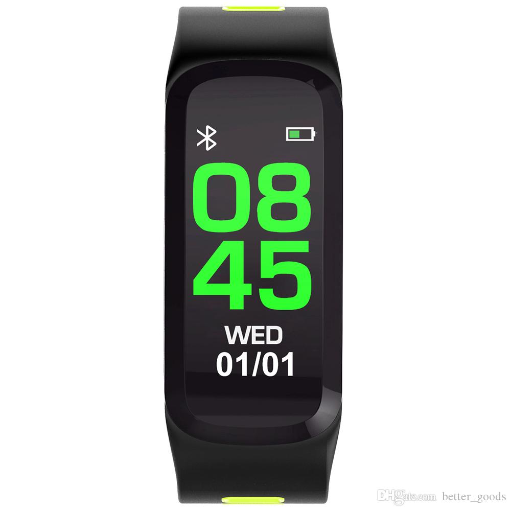 F4 Smart-Armband-Blutdruck-Puls-Monitor-Smart Watch Bluetooth Pedometer Sport Smart-Armbanduhr für IOS Android Phone Watch