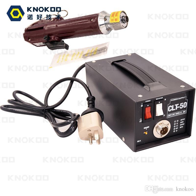 KNOKOO Professional مفك كهربائي مجموعة CL-4000 (H4 bit) 1.0--5.5 kfg.cm مع مزود طاقة CLT-50