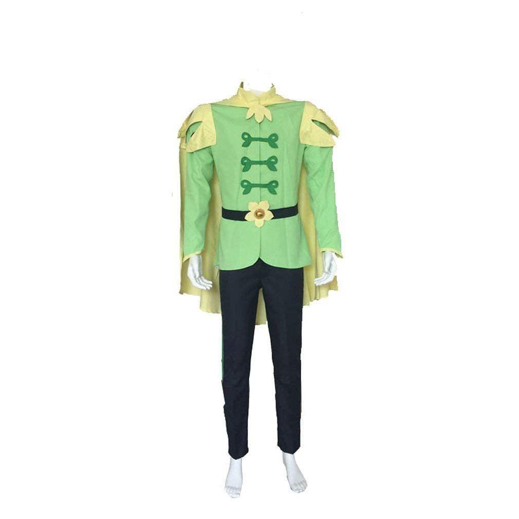 Men The Princess And Frog Prince Naveen Cosplay Costume Custom