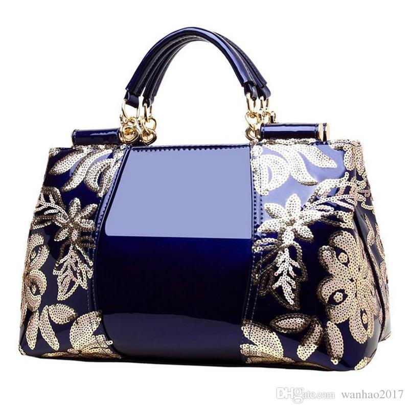 La borsa delle donne del cuoio genuino della borsa delle donne la nuova progettazione di lusso di arrivo di nuovo stile elegante 5 colori libera il trasporto