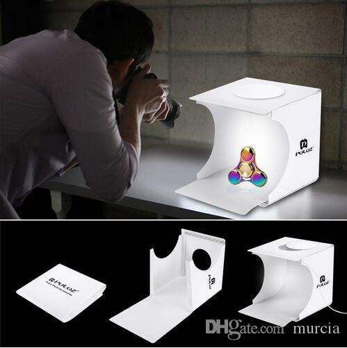 Dual LED Panels Folding Portable Photo Video Box Lighting Studio Shooting Tent Box Kit Emart Hot Sale Factory Directly