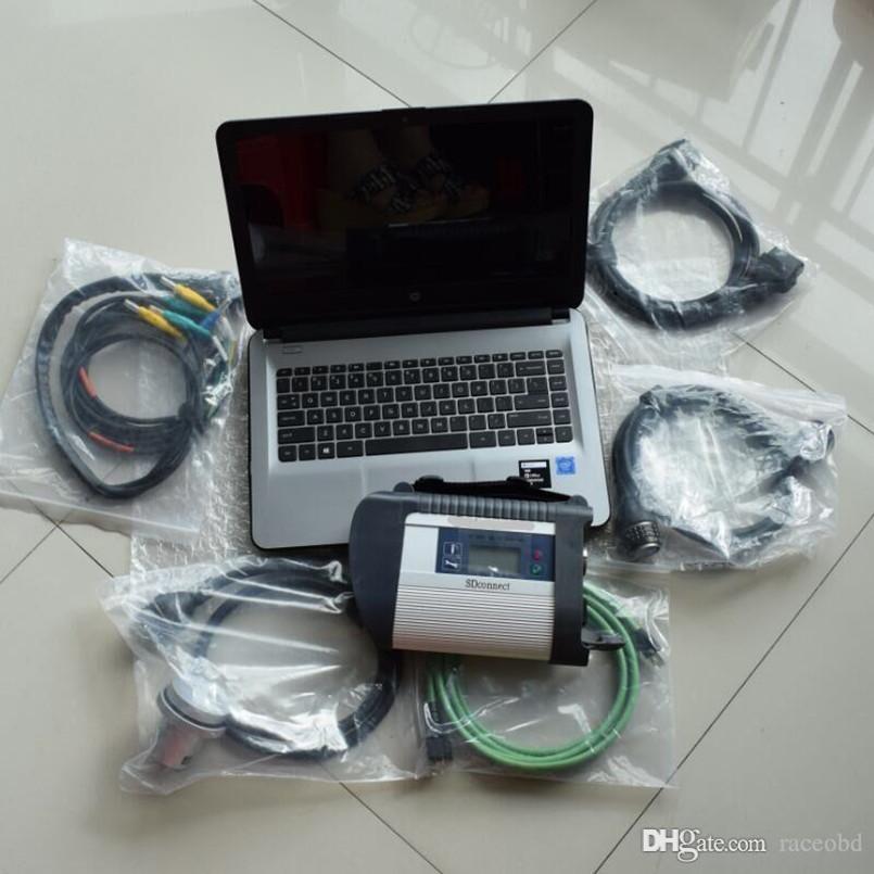 para mb sd conecte compact star diagnosis c4 con laptop 4g hdd 320gb para usar