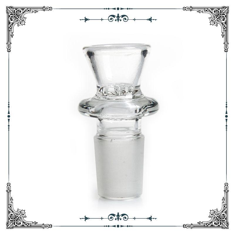 Sıcak satış yeni tasarım cam kase ile petek ekran cam cam sigara kase 18.8mm 18mm erkek ortak boyutu ücretsiz kargo