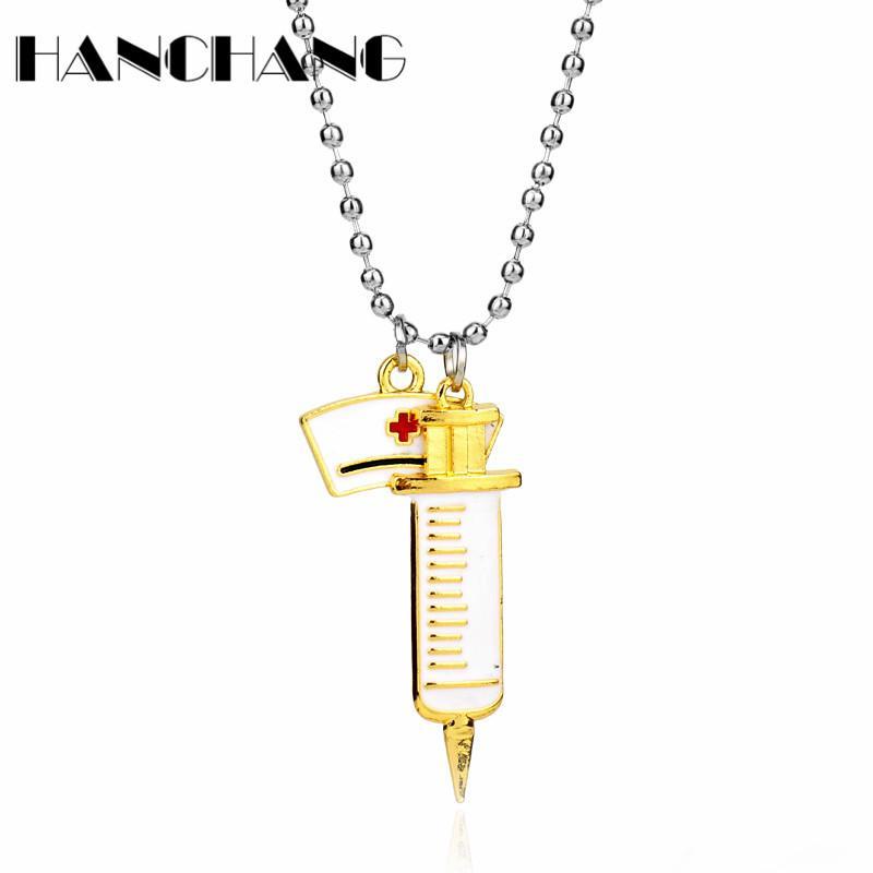 Cappello Jewelry Beads creativo catena collana dei pendenti Lega Accessori regalo Student NecklacePendant