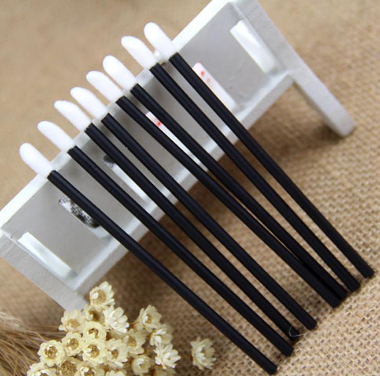 Бесплатная доставка ePacket 50 шт / комплект новой Одноразовой Lip Brush Gloss жезлы Аппликатор макияж Косметический инструмент красота