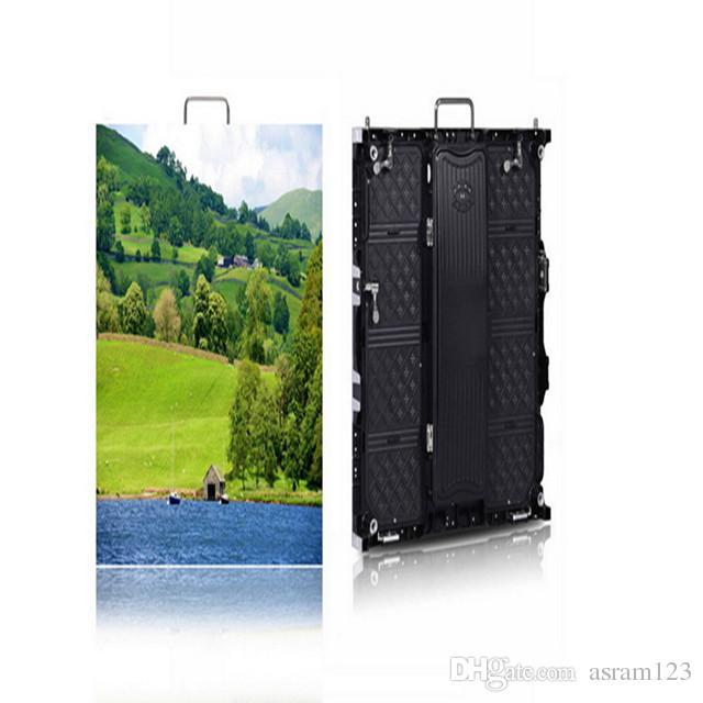 Slim-Panel Oudoor P4.81 Smd 2525 Led Vermietung Screen / 4.81mm Außen Vermietung Led-Anzeige