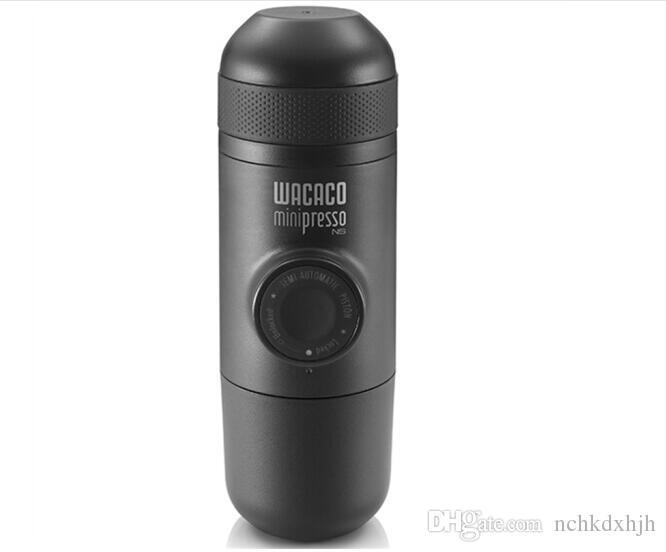china WACACO NS Minipresso macchina da caffé portatile da esterno a pressione manuale Capsula Nestle Caffettiera espresso italiano in polvere 70ml 8bar