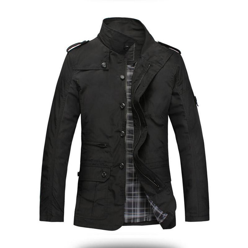 Mode mince hommes veste manteau vente chaude Casual Wear 5xl confort coréen automne manteau nécessaire printemps manteau Drop Shipping